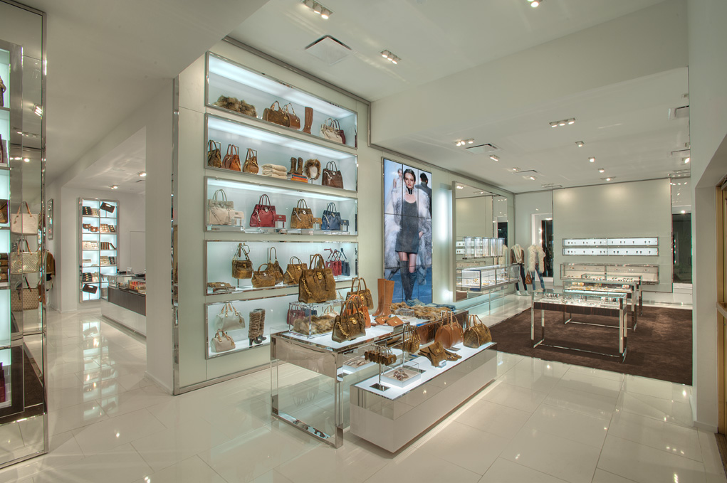 Kevin Vuong Store Design For Michael Kors Andrea Serrano